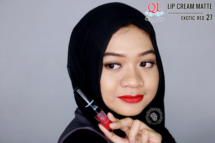QL Lip Cream Matte 27 Exotic Red