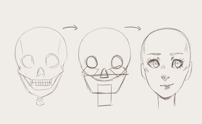 Shapes Drawing Face