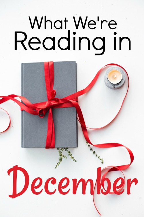 A list of books for December by a homeschooling family of 7