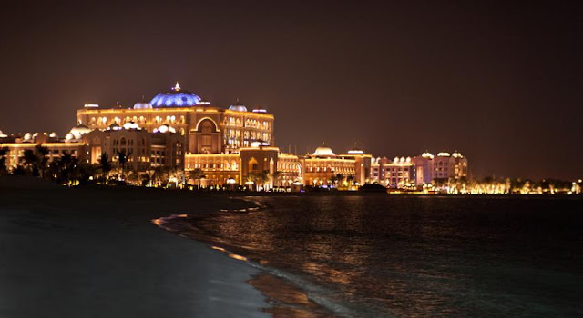 Ảnh đẹp khách sạn 7 sao Emirate Palace 7 sao tại Abu Dhabi