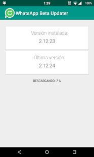 Beta updater Whatsapp