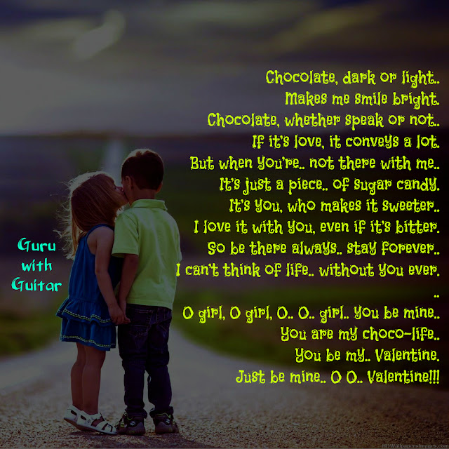 chocolate_poem_valentine_day_hug_kiss_quote_vikrmn_guru_with_guitar_gwg_novel_chartered_accountant_ca_author_srishti_vikram_verma