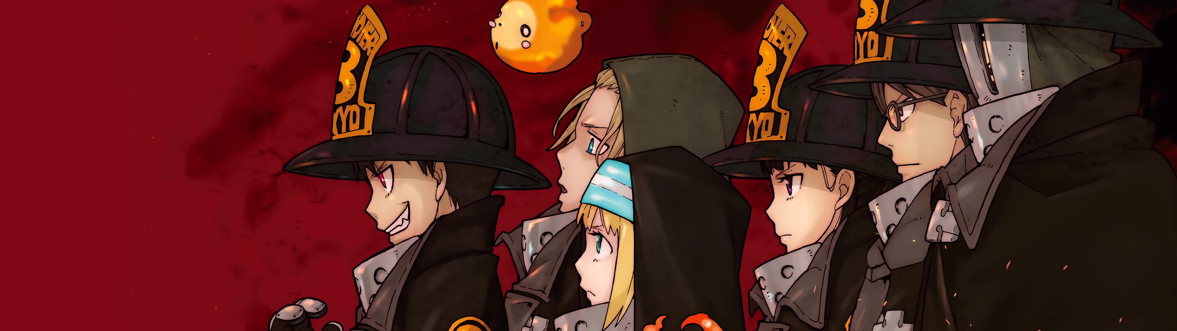Fire Force Special Fire Force Company 8 Characters 4k Wallpaper 4 I gushed a little about it on karandi's blog. fire force special fire force company 8