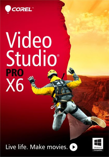 Download Corel VideoStudio Pro X6 + Crack