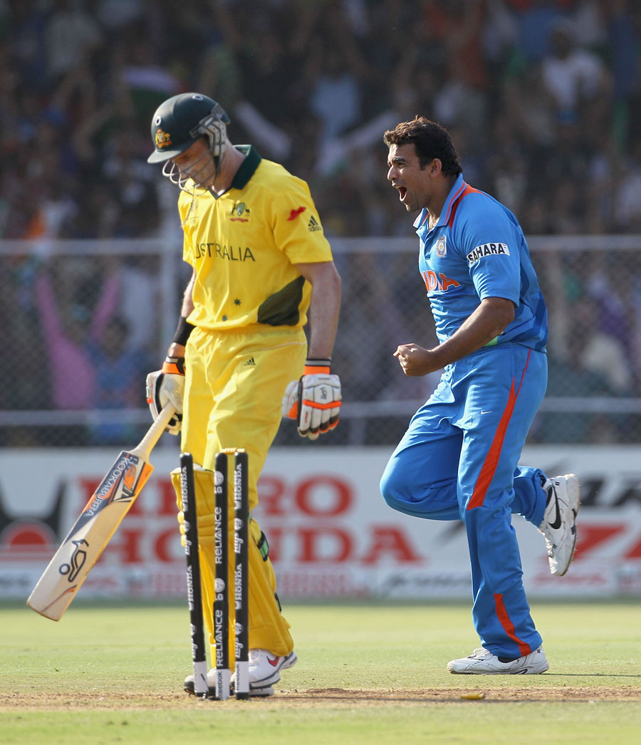 India v Australia 2011 Cricket World Cup 2nd QF Photos - Yuvraj Singh is Man of Match