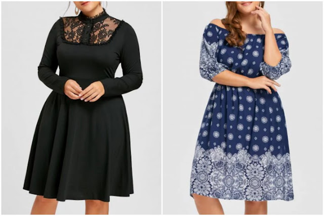 Wishlist Loja Rosegal: Vestidos Plus Size