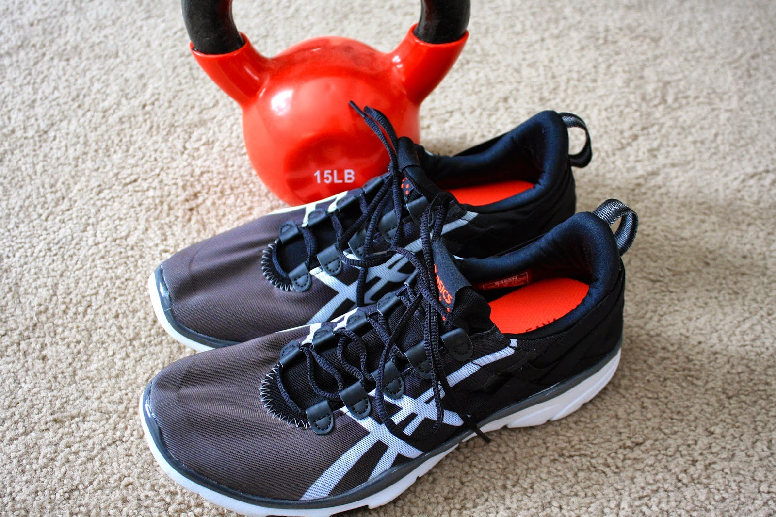 de ultramar Comparable Asentar  Lisa Living Well: ASICS GEL-Fit Sana Review