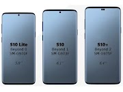 Samsung Galaxy S10 Galaxy S10 Lite Galaxy S10Plus Release Leak And Infinity-O Type Display with Four Camera