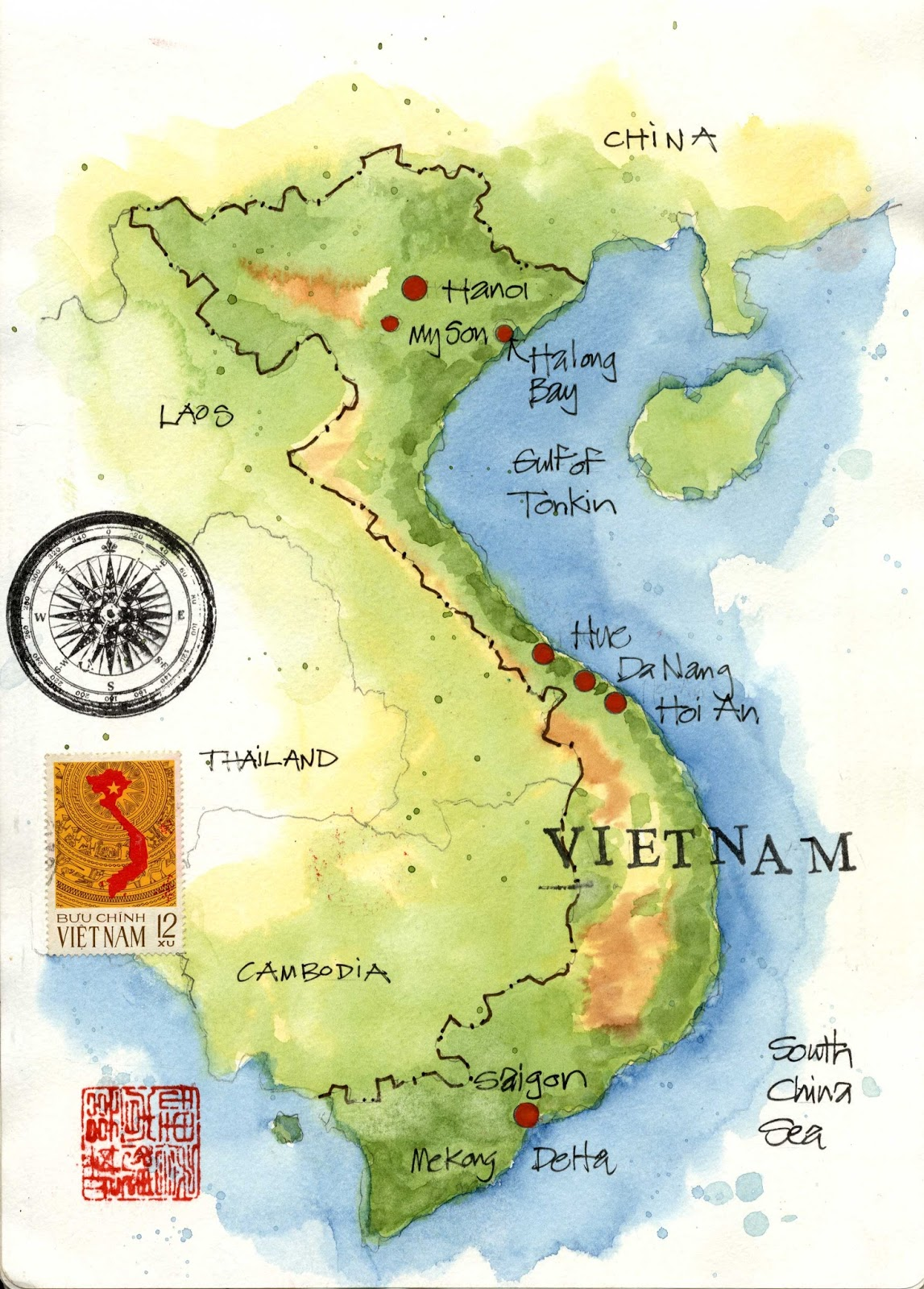 Impressions of Vietnam: An Overview | Urban Sketchers