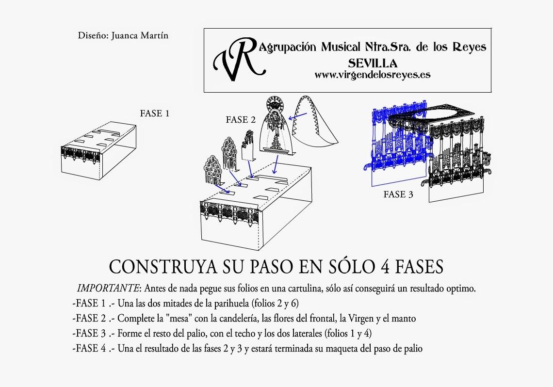Semana Santa Sevilla Colorear: TECNICAS SOBRE MINIATURAS Y MODELISMO COFRADE: PASO DE