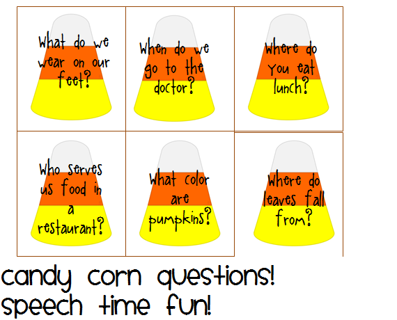 wh question visual speech time fun speech and language activities