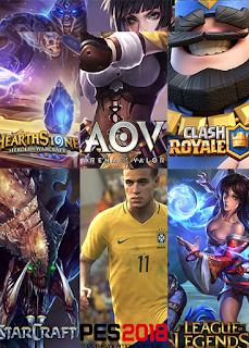6 Games Esports Di Asian Games 2018