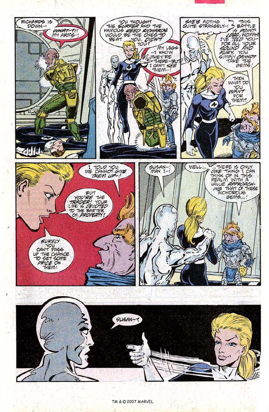 Read online Silver Surfer (1987) comic -  Issue #15 - 31