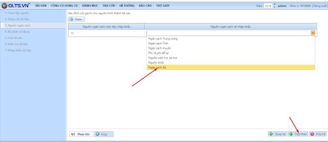 Cách nhập khẩu dữ liệu lên phần mềm quản lý tài sản (QLTS.VN)