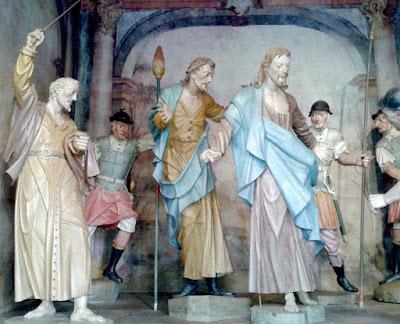 Cenas da Via Sacra - Prisão de Jesus