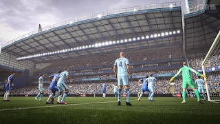 Fifa 16 Gameplay view