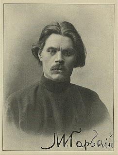Αυτόγραφο πορτραίτο του Γκόρκι
