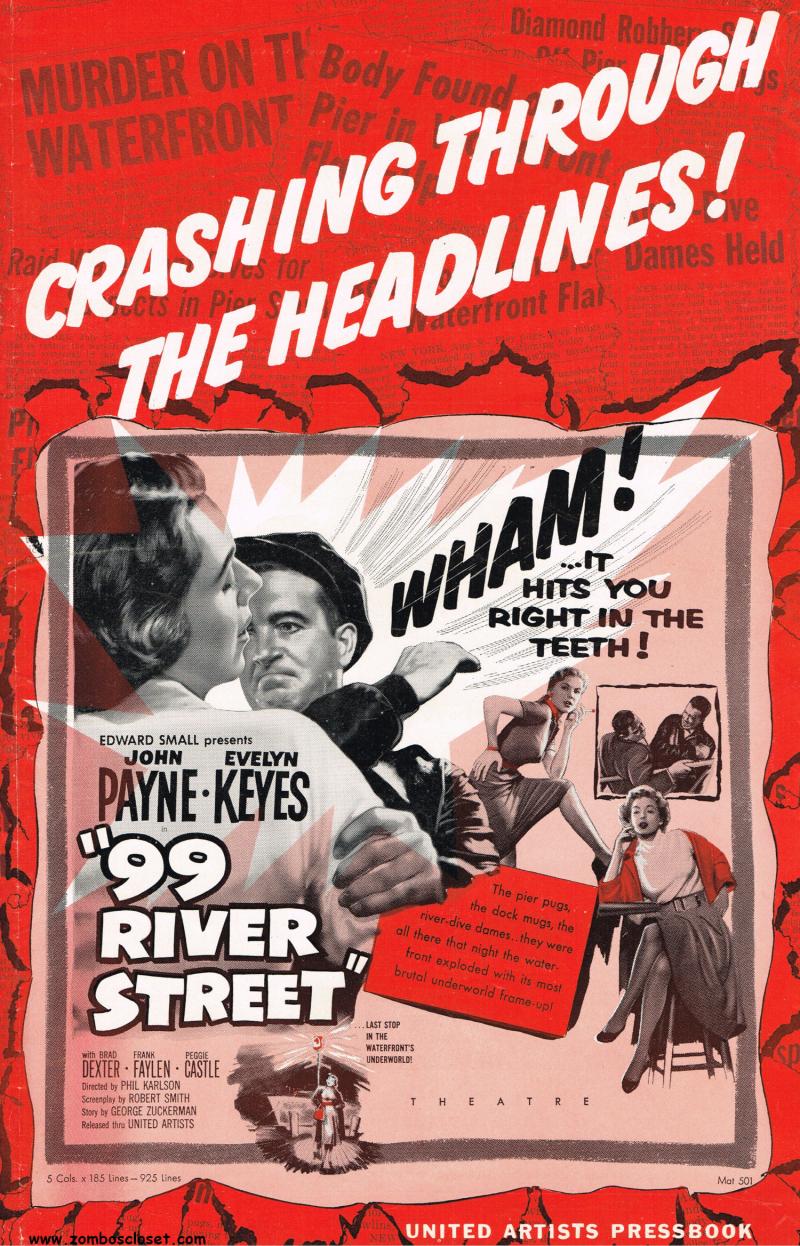 The Signal Watch: Noir Watch: 99 River Street (1953)
