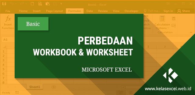Workbook Dan Worksheet Pada Microsoft Excel