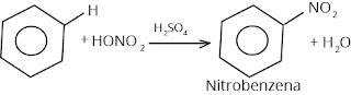 reaksi nitrasi benzena