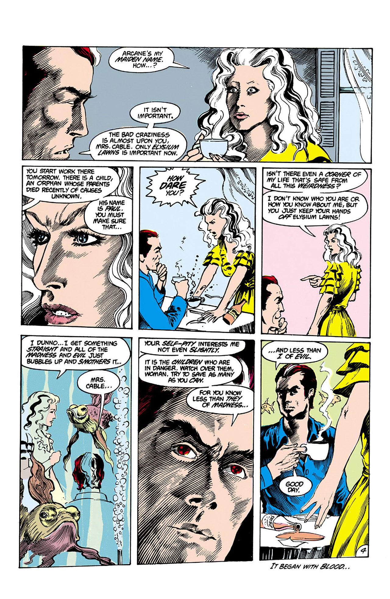 Swamp Thing (1982) Issue #26 #34 - English 4