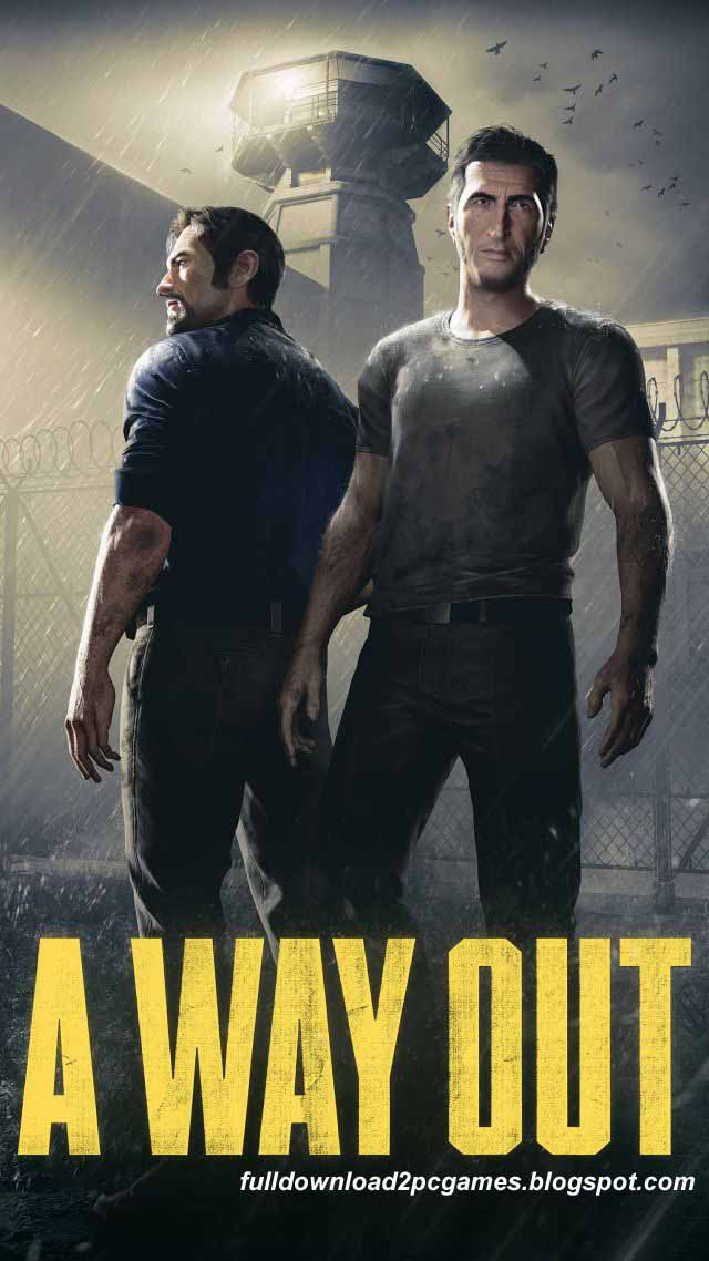 This Is An Excellent Action With Adventure Video Game Developed By Hazelight And Publishe A Way Out Free Download PC Game- CPY