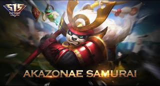 Download Script Skin Akai - Akazonae Samurai (Mobile Legend)