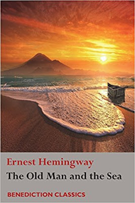 The Old Man and the Sea  by Ernest Hemingway (Book cover)