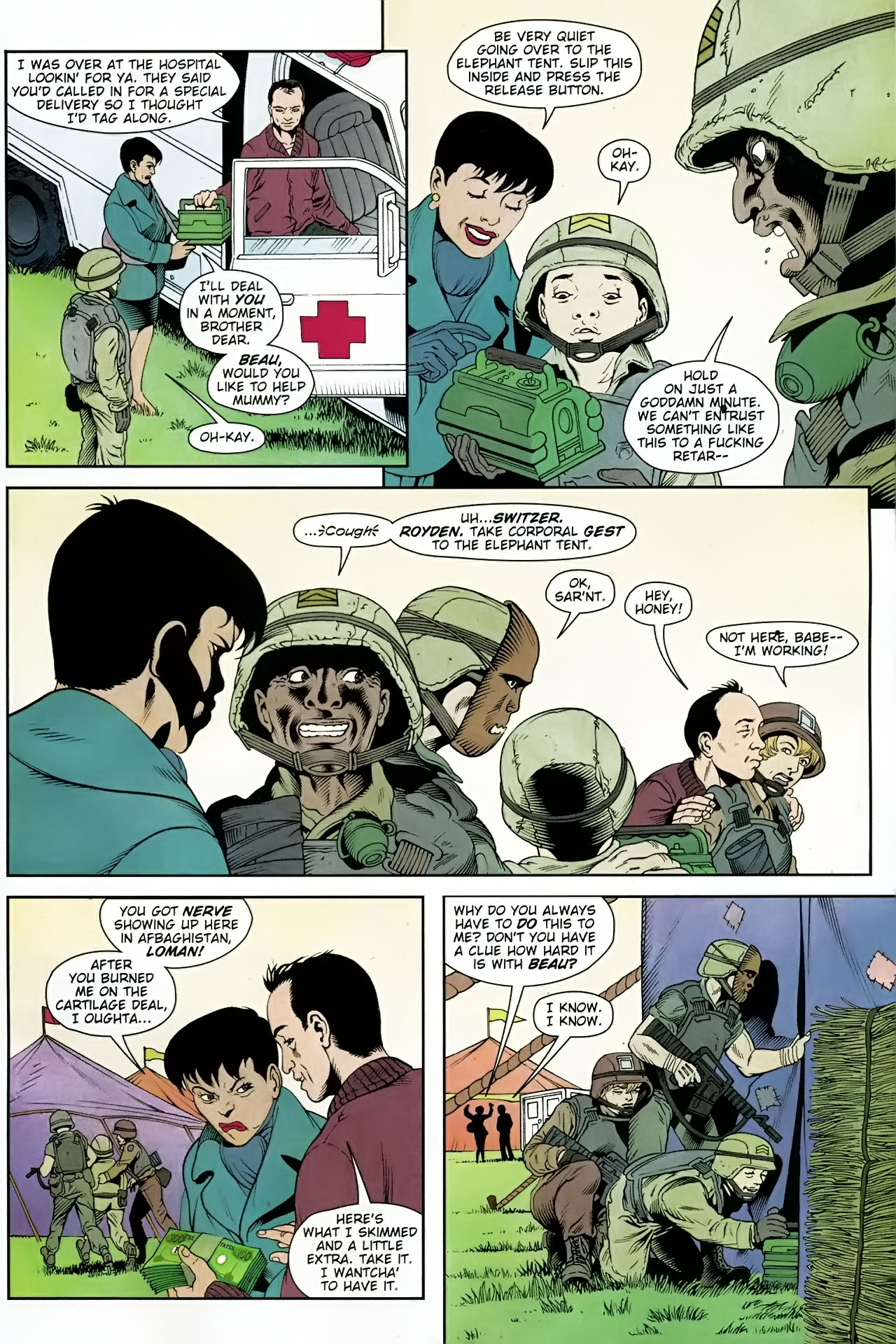Read online Army @ Love comic -  Issue #7 - 20