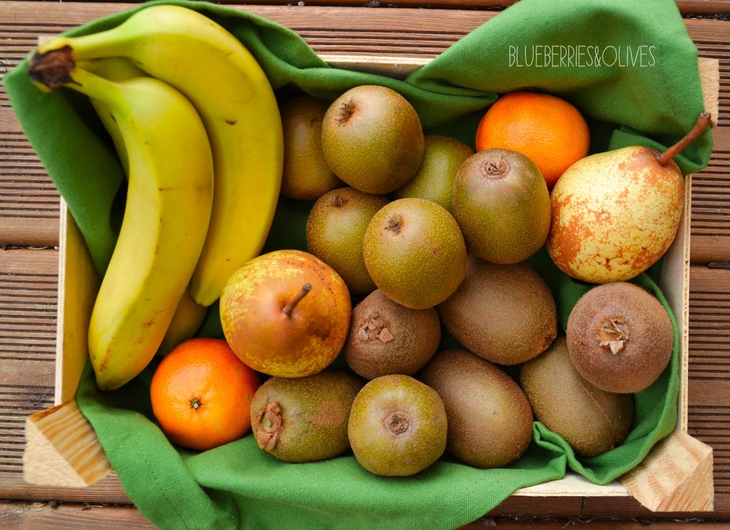Ingredientes - Smoorhies de kiwi con piruletas 4