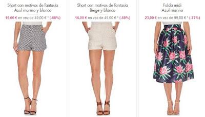 shorts falda goa