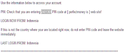 cara withdraw perfect money ke bank lokal
