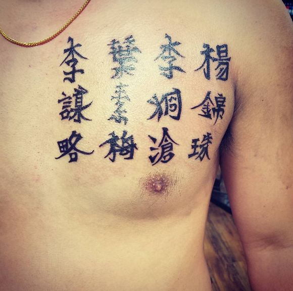 50 Interesting Chinese Tattoos Designs And Ideas 2018 Tattoosboygirl
