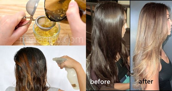 How to Lighten Your Hair Color Without Bleach