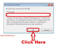 how to make password protected word file 2007