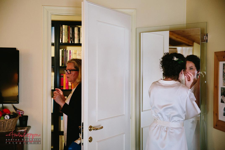 bride getting ready wedding Italy