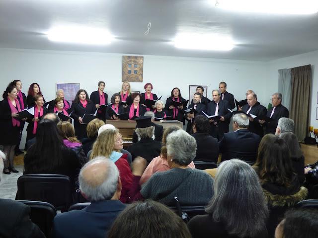 Η δημοτική χορωδία Επιδαύρου συμμετείχε στην εκδήλωση της 196ης επετείου της Α΄ Εθνικής Συνέλευσης