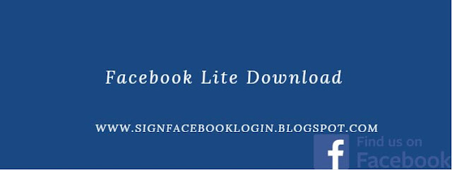 Facebook Lite Download