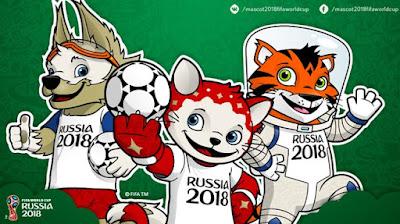 Mascots FIFA 2018 Russia