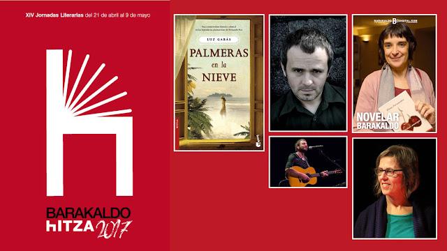 Autores en las jornadas literarias de Barakaldo