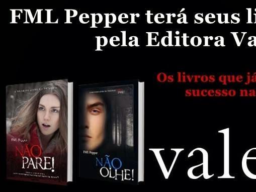 A Trilogia Não Pare! será publicada pela Editora Valentina!