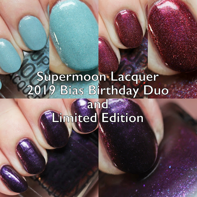 Supermoon Lacquer 2019 Bias Birthday Duo and Limited Edition