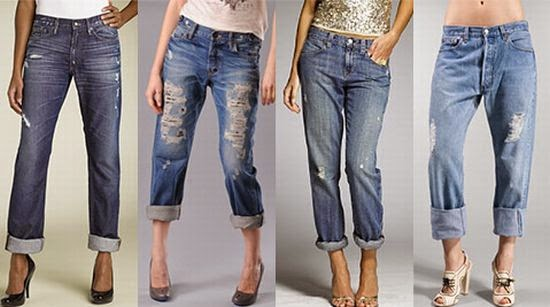 calça jeans feminina boyfriend