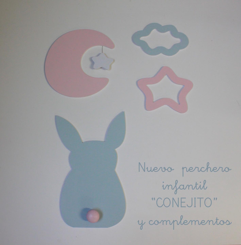 Percheros infantiles personalizados decoraci n infantil - Perchero infantil pared ...