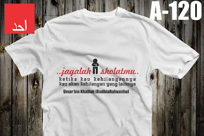 Jagalah Sholatmu | Kaos Muslim Ahad