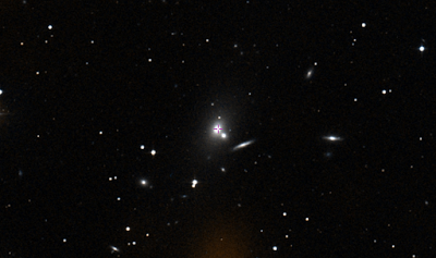 photograph from Aladin of stars near ACO 779