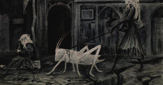 Sunday Inspirational Image: Weird Pets in the Underdark