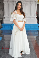 Telugu Actress Amyra Dastur Stills in White Skirt and Blouse at Anandi Indira Production LLP Production no 1 Opening  0118.JPG