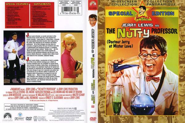 The Nutty Professor 1963 movieloversreviews.filminspector.com DVD case