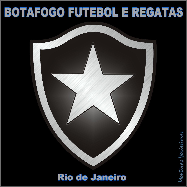 1d9a6e0d7287d Escudo do Botafogo Futebol e Regatas do Rio de Janeiro. Chamada para os  Hinos do
